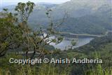 Periyar lake from a mountain